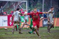 Muddy football