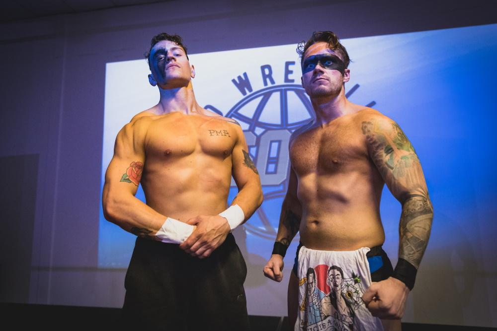 Pro Wrestling SOUL tag team in Wimbledon